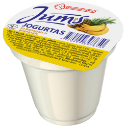 "Jogurtas ""JUMS"" su bananais..."