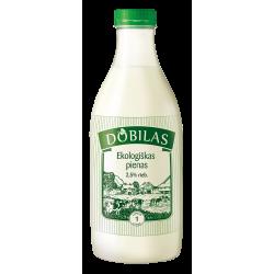 Ekologiškas  pienas...